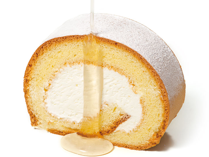 信州蜂蜜ロールケーキ