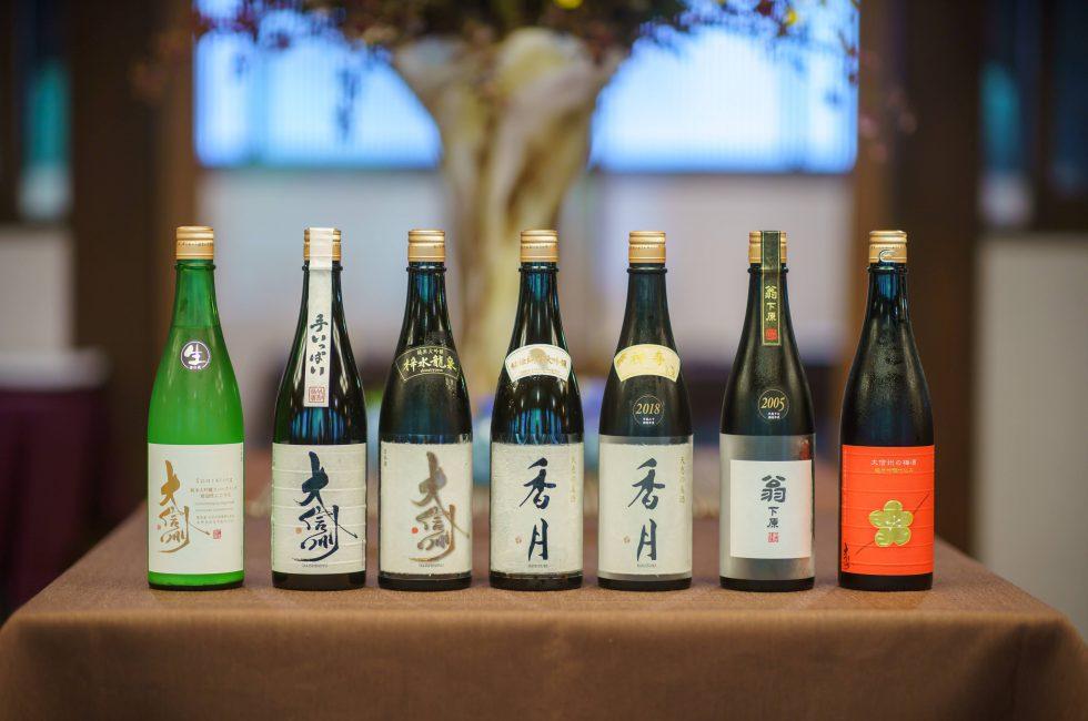 大信州 日本酒ボトル