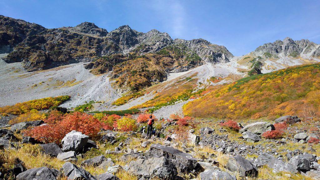 山の紅葉は今が見頃