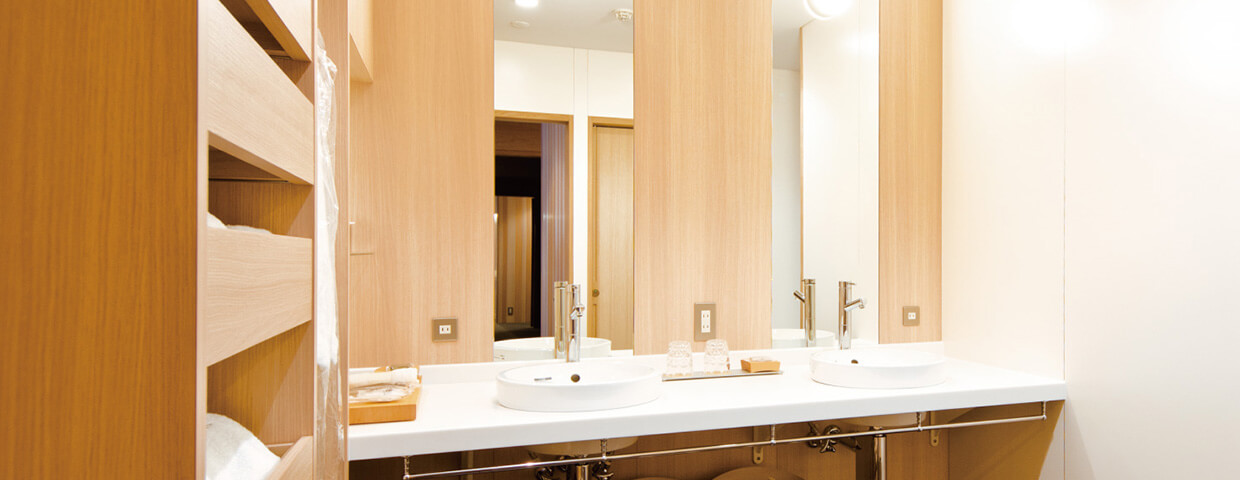 Spacious Suite room / washroom