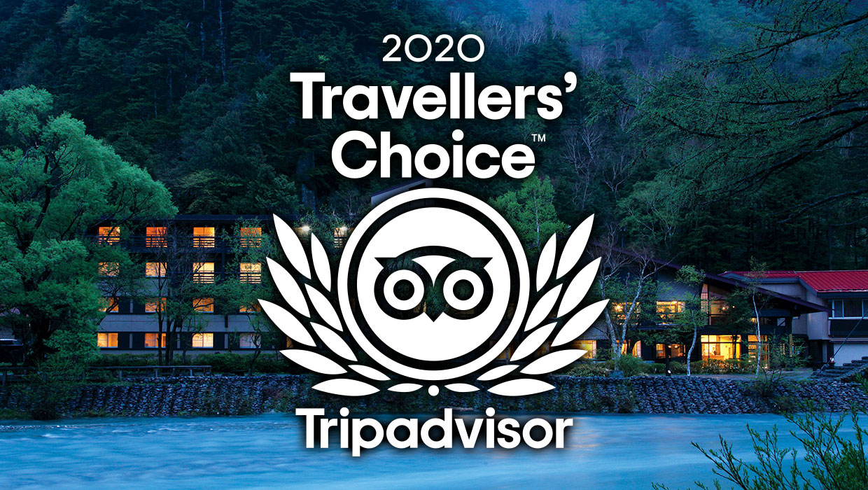"[Award won 4 years in a row] ""Traveler's choice hotel award"""